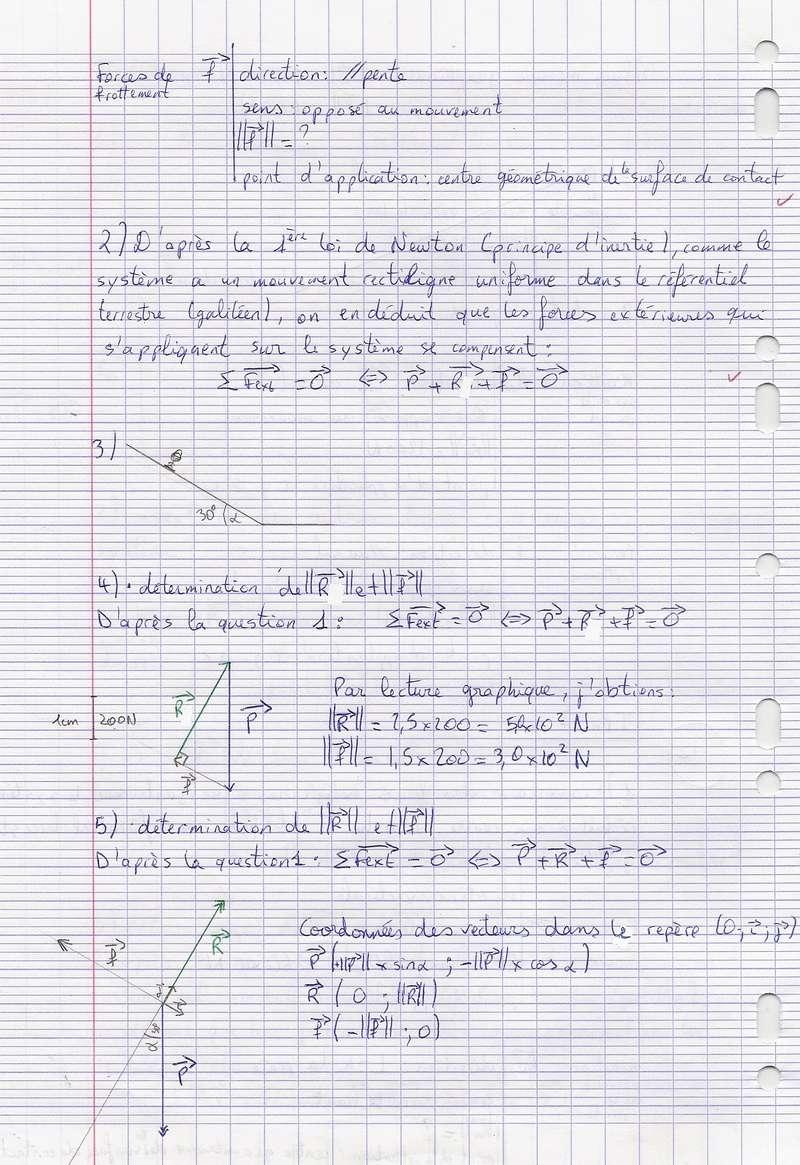 TDs n°17 et 18 Lois de Newton Numyri25