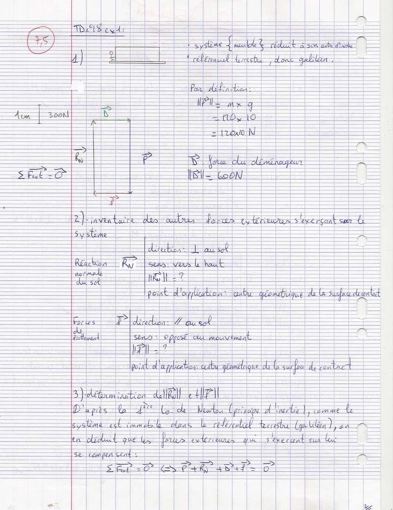 TDs n°17 et 18 Lois de Newton Numyri26
