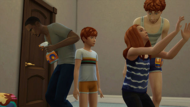 [Challenge Sims 4] Tranches de Sims: Les enfants démoniaques  1010