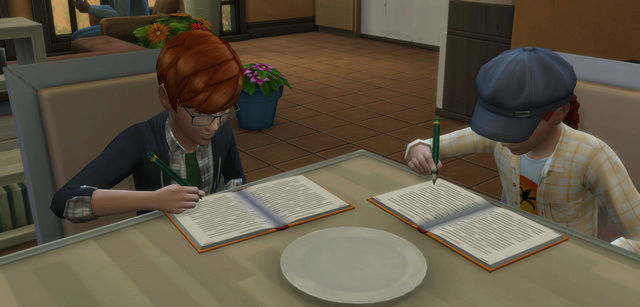 [Challenge Sims 4] Tranches de Sims: Les enfants démoniaques  510