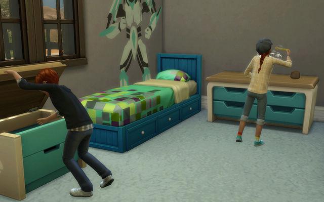 [Challenge Sims 4] Tranches de Sims: Les enfants démoniaques  610