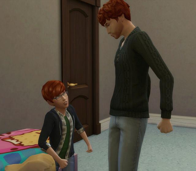[Challenge Sims 4] Tranches de Sims: Les enfants démoniaques  710