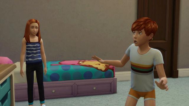 [Challenge Sims 4] Tranches de Sims: Les enfants démoniaques  910