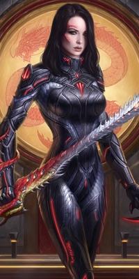 The rise of the dark queen. [PV Atlee] Gaiaar10