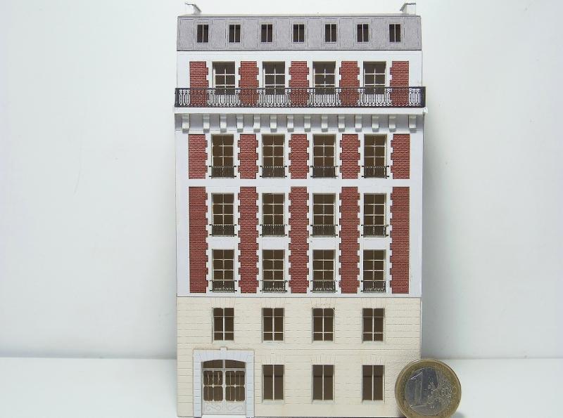 [Architecture & Passion] Un bel immeuble au 1/160ème... 160vil10