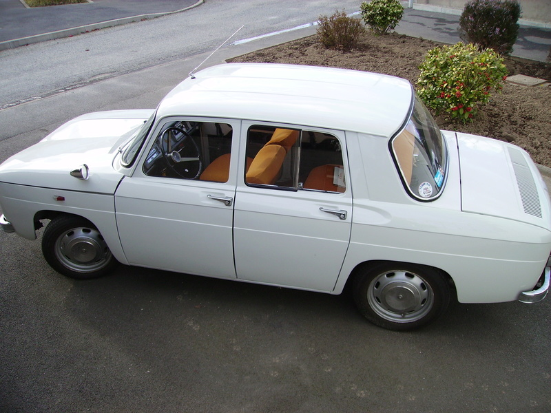 Rénovation Renault 8 Type 1130 R804210