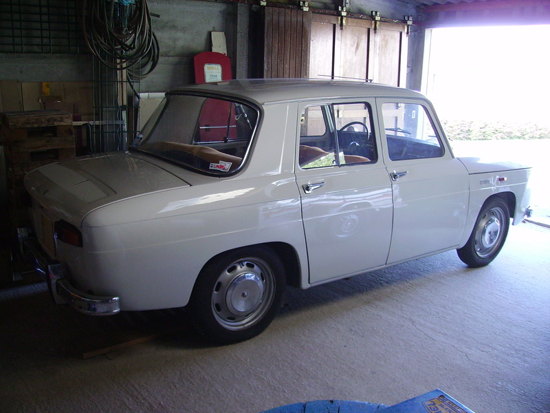 Rénovation Renault 8 Type 1130 R805510