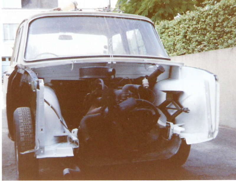 Rénovation Renault 8 Type 1130 R81310