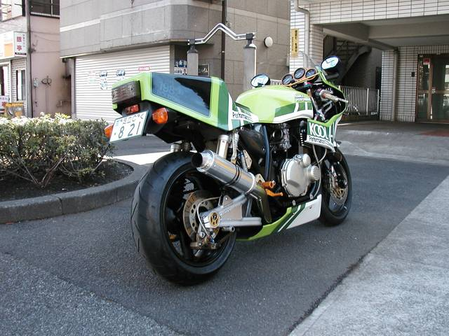KAWASAKI  PERFORMANCE REPLICA................ZRX 1200 !!!!! 85001812