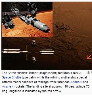 En voilà une idée quelle est bonne... Votre avis ? / Les navettes pour un voyage vers Mars Image211