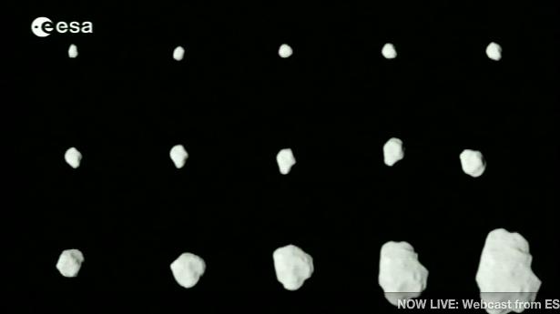 Rosetta : survol de l'astéroïde Lutetia - Page 2 Image212