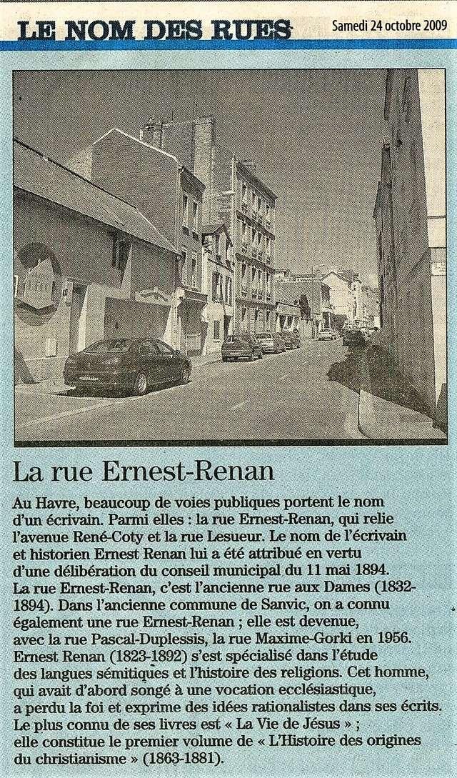 Havre - Le Havre - Rue Ernest Renan 2009-111