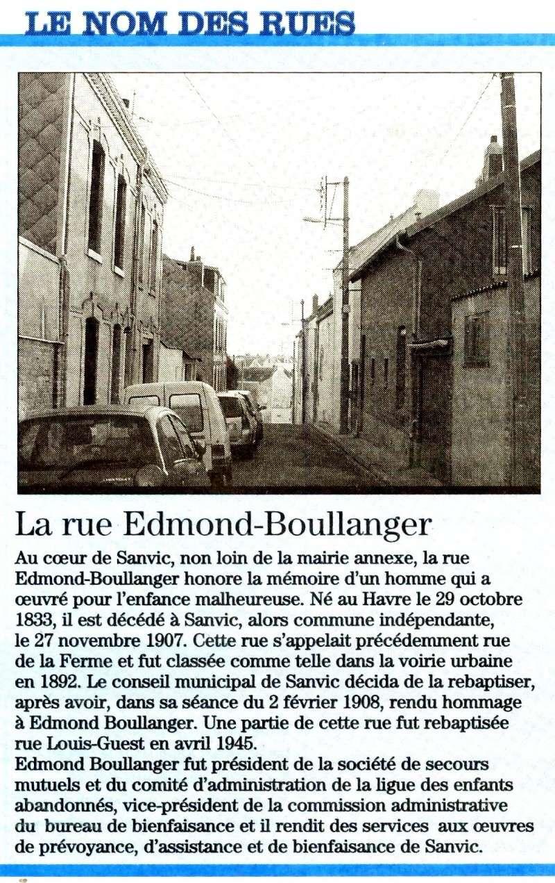 SANVIC - Sanvic - Rue Edmond Boullanger 2010-013