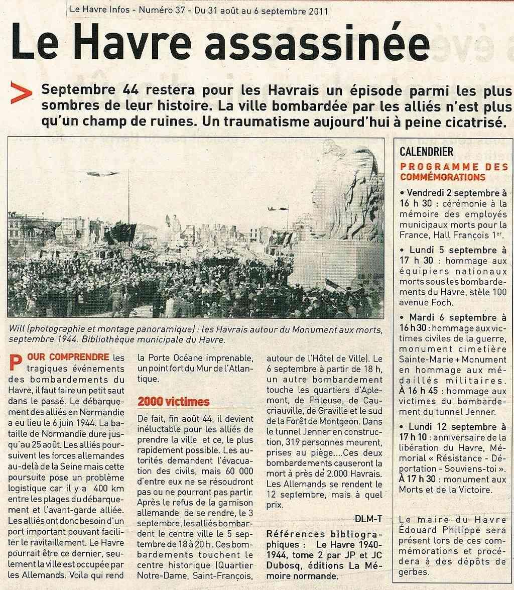 Havre - Le Havre assassiné 2011-020