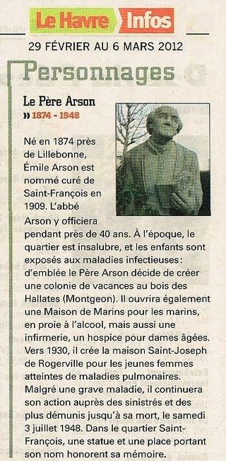 Abbé - Abbé ARSON 2012-028