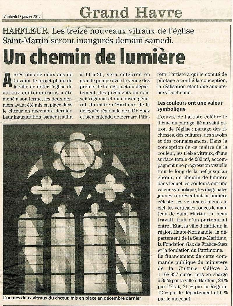 Harfleur - Les nouveaux vitraux de l'église Saint-Martin 2012-034