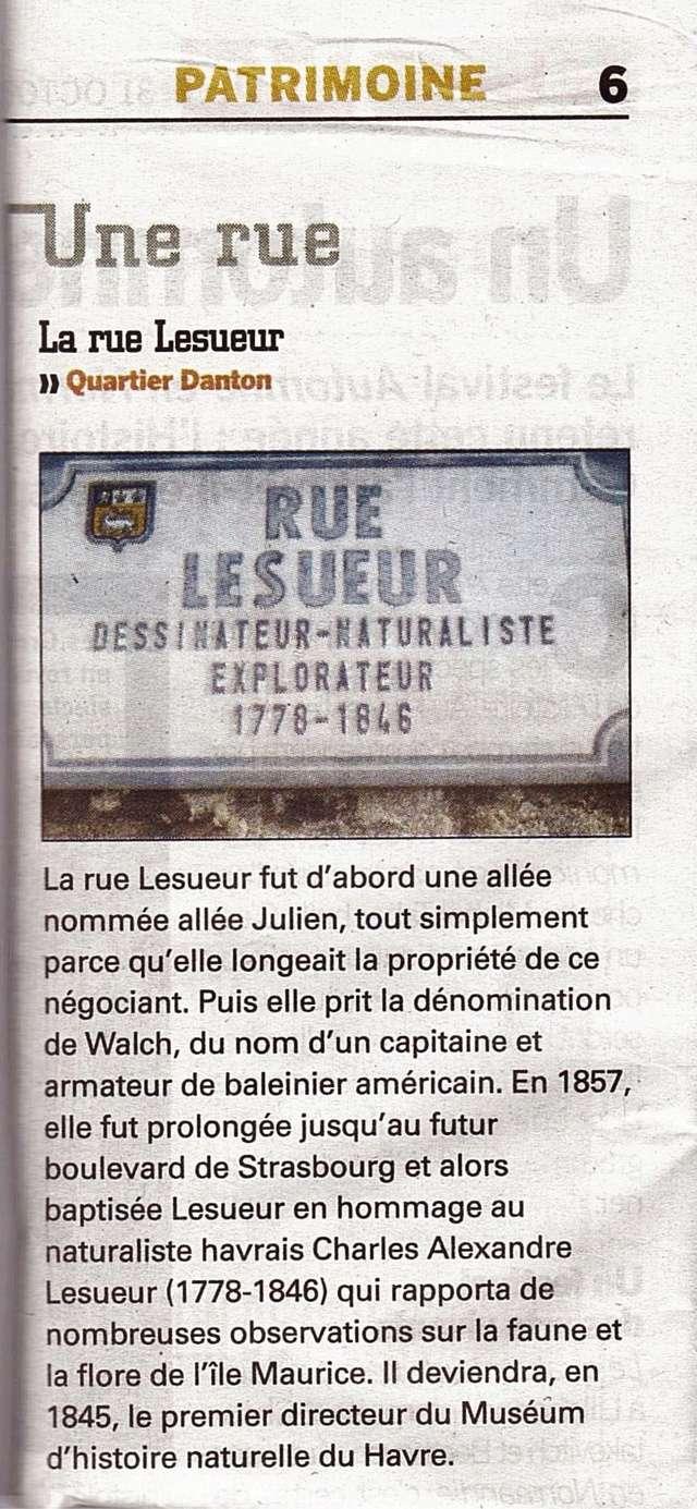 Havre - Le Havre - Rue Lesueur (Danton) 2012-112
