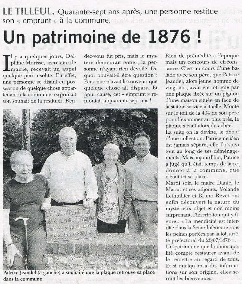Le Tilleul - Un patrimoine de 1876 2013-013
