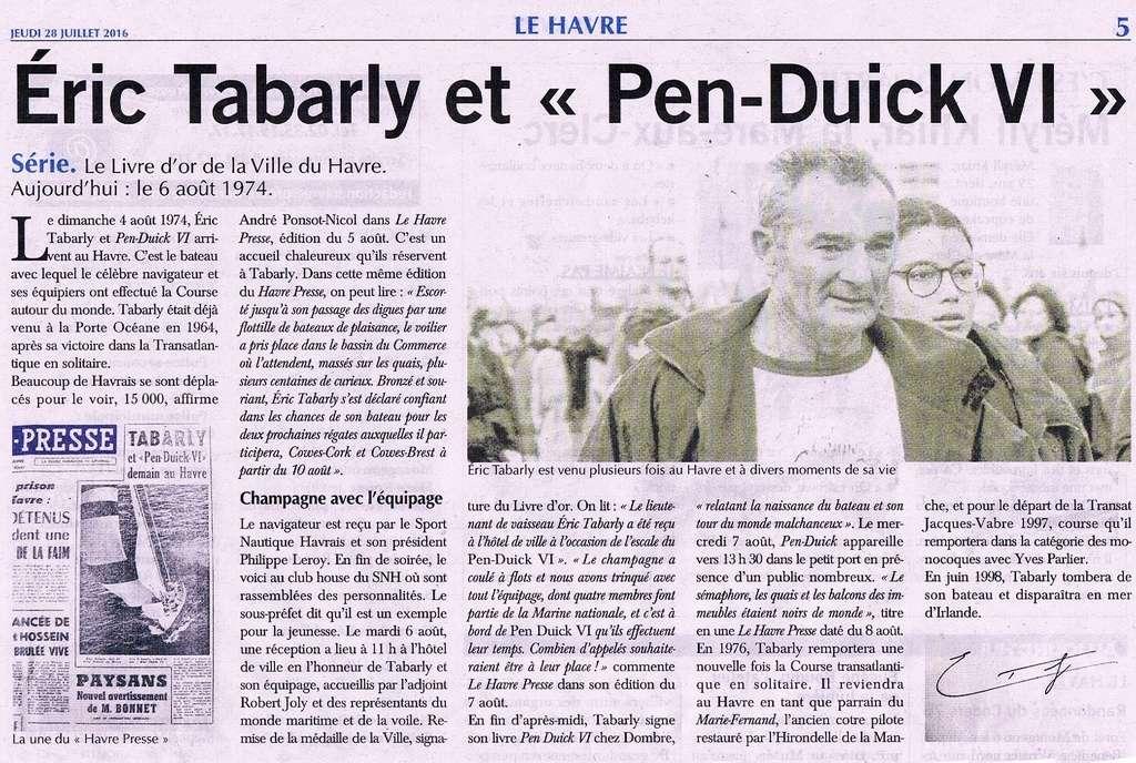 hebert - Découverte du Livre d'or de la Ville du Havre II 2016-025