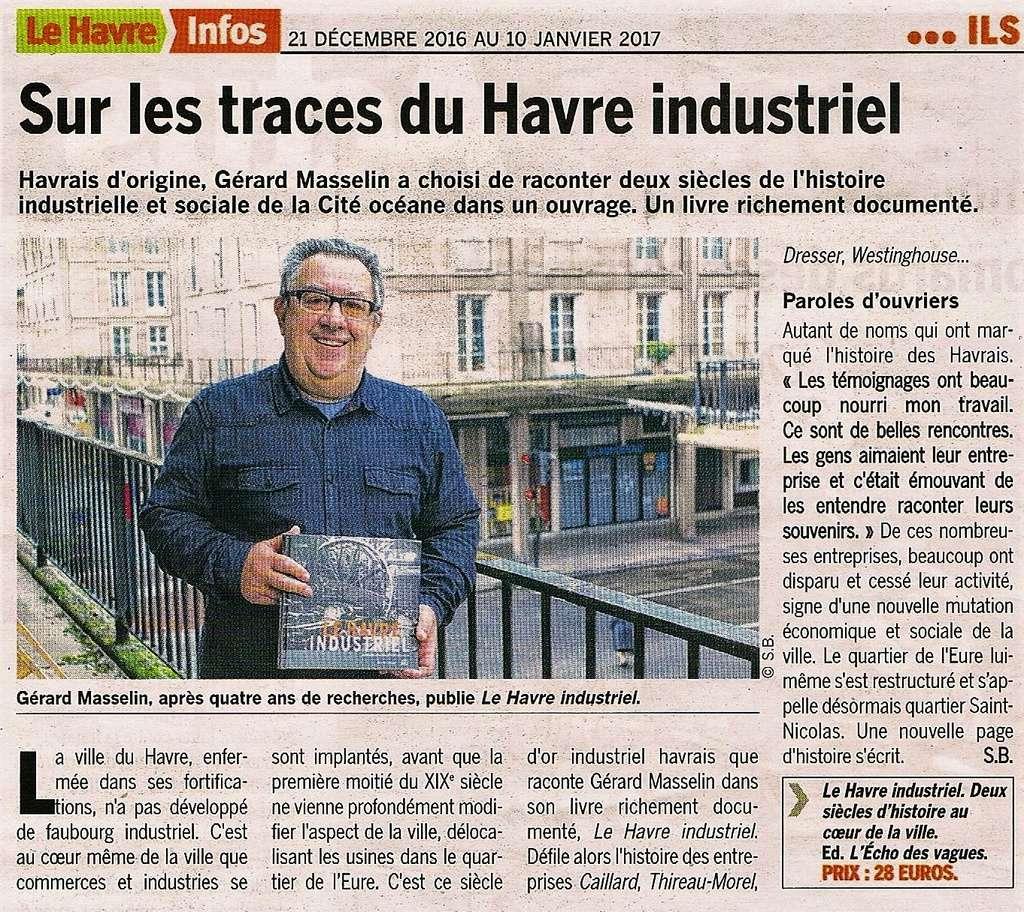 Havre - La vie industrielle du Havre par MASSELIN 2016-135