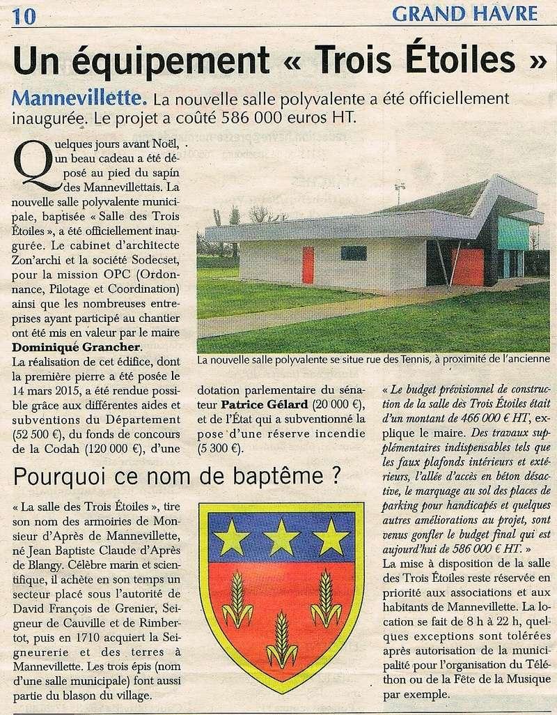 Equipement Trois Étoiles à Mannevillette 2016-138