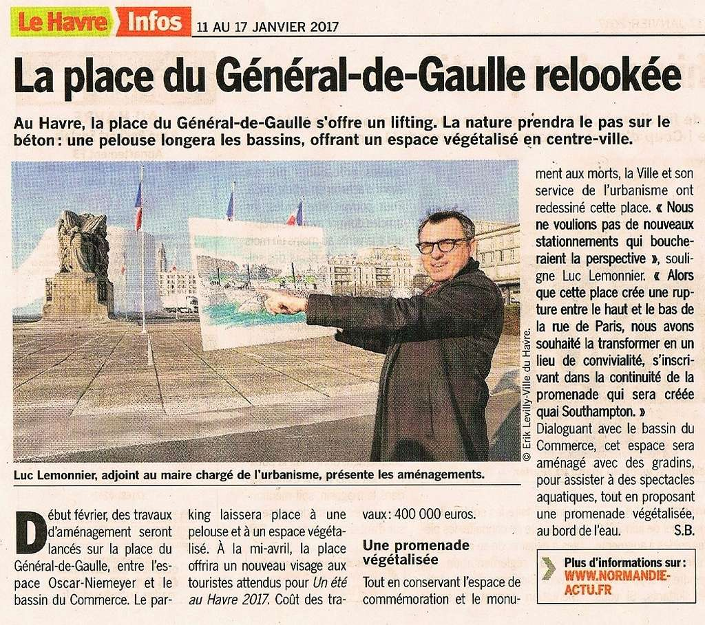 Havre - Rénovation de la place du Général-de-Gaulle au Havre 2017-015