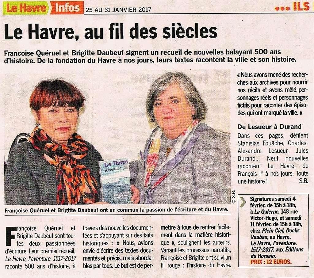 Le Havre, l'aventure1517-2017 par QUÉRUEL et DAUBEUF 2017-025
