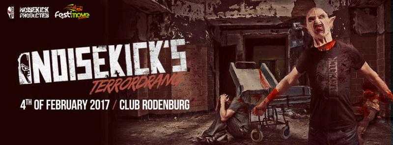 NOISEKICK'S TERRORDRANG - Samedi 4 Février 2017 - Club Rodenburg - Beesd - NL 15094410