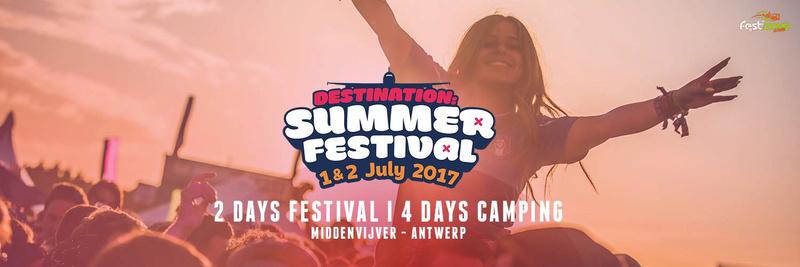 Summerfestival 2017  - Samedi 1er Juillet 2017 -  Middenvijver - Anvers - Belgique 16487110