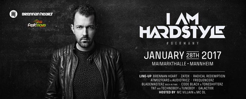 I Am Hardstyle Germany - Samedi 28 Janvier 2017 - Maimarkthalle - Mannheim - Allemagne 33168010
