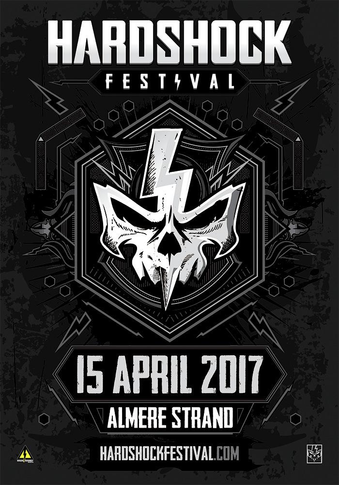 HARDSHOCK - 15 Avril 2017 - Almere Strand, Almere - NL Hardsh10