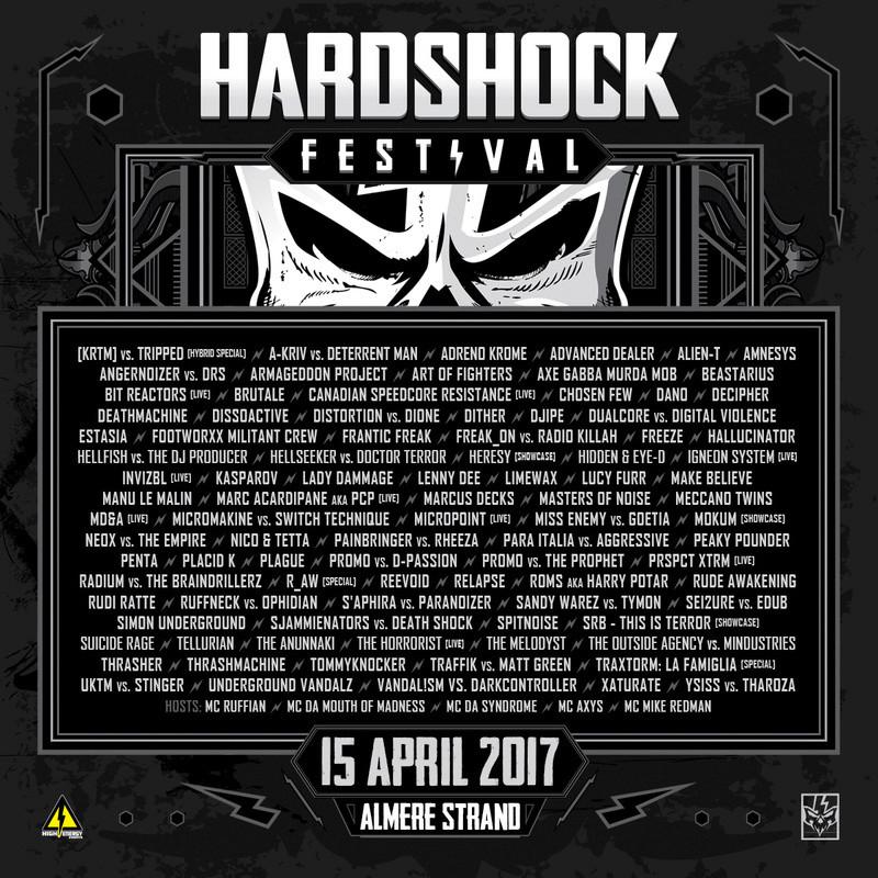 HARDSHOCK - 15 Avril 2017 - Almere Strand, Almere - NL Hardsh12