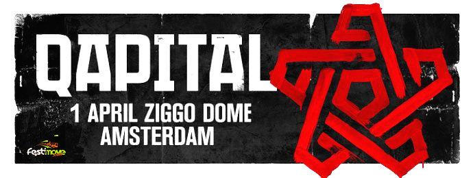 QAPITAL - 1 Avril 2017 - Ziggodome - Amsterdam - NL Qapita10