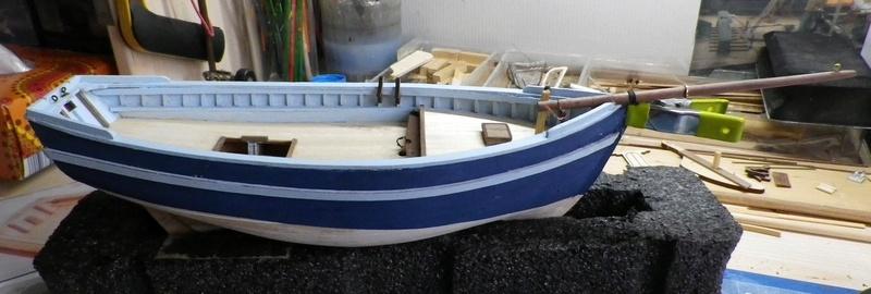 """Pas à pas d'une maquette terminée : """"Le Bon Retour"""" Coquiller de la rade de Brest. Kit AL au 1/50ème 1011"""