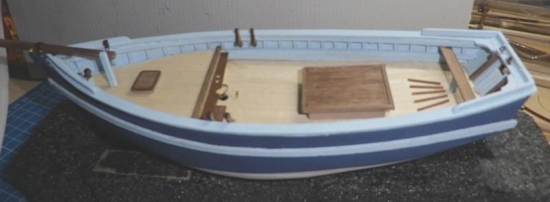 """Pas à pas d'une maquette terminée : """"Le Bon Retour"""" Coquiller de la rade de Brest. Kit AL au 1/50ème 1611"""