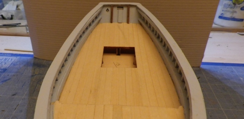 """Pas à pas d'une maquette terminée : """"Le Bon Retour"""" Coquiller de la rade de Brest. Kit AL au 1/50ème 811"""
