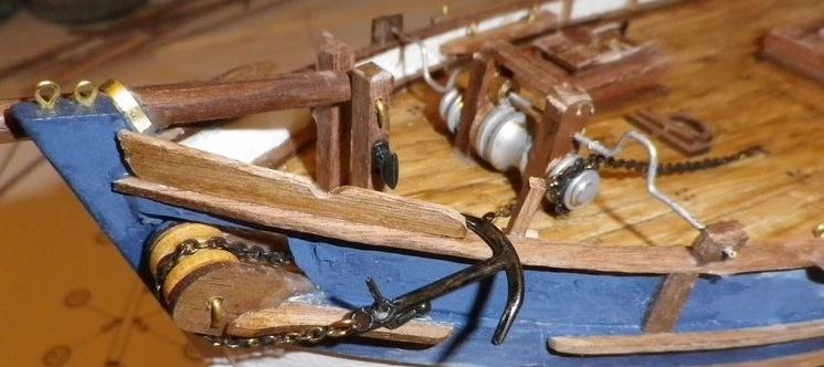 Thonier* - La Marie Jeanne Thonier Billing boats au 1/50 - Page 5 Imgp2910