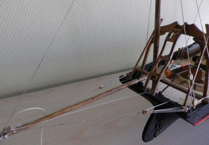 """Pas à pas d'une maquette terminée : le """"Marie-Adéaïde"""" - Harenguier. Kit Soclaine au 1/50ème Imgp3759"""