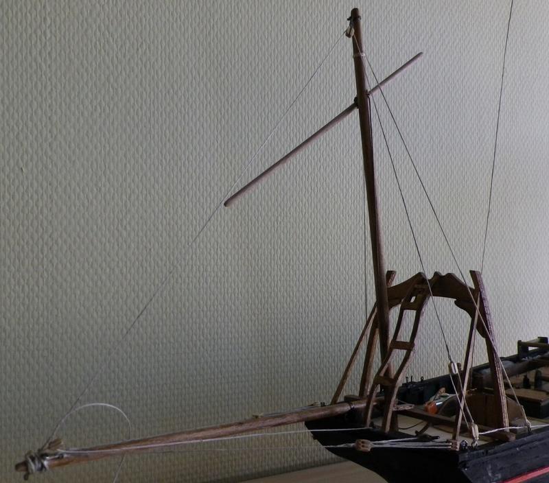 """Pas à pas d'une maquette terminée : le """"Marie-Adéaïde"""" - Harenguier. Kit Soclaine au 1/50ème Imgp3762"""