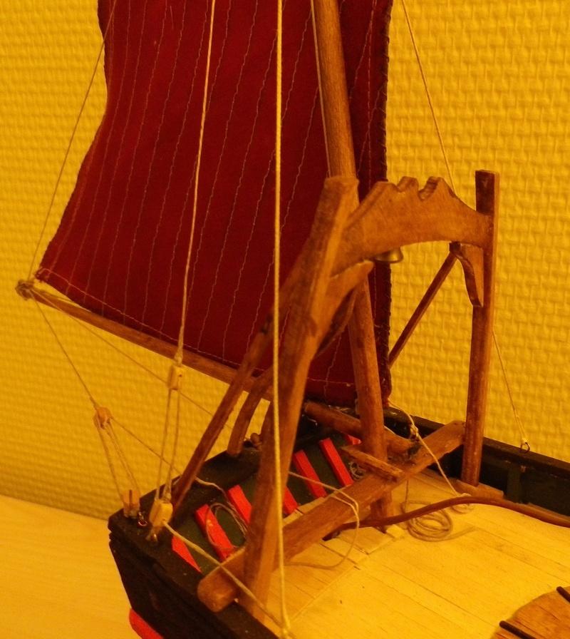 """Pas à pas d'une maquette terminée : le """"Marie-Adéaïde"""" - Harenguier. Kit Soclaine au 1/50ème Imgp3829"""