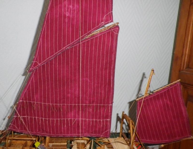 """Pas à pas d'une maquette terminée : le """"Marie-Adéaïde"""" - Harenguier. Kit Soclaine au 1/50ème Imgp3937"""