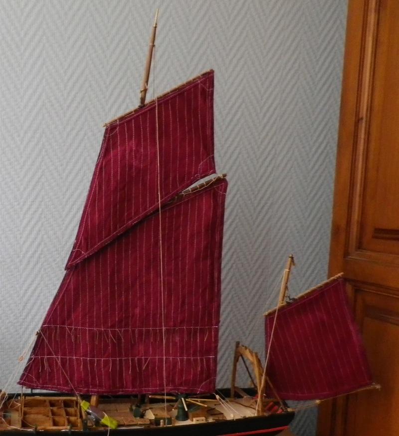 """Pas à pas d'une maquette terminée : le """"Marie-Adéaïde"""" - Harenguier. Kit Soclaine au 1/50ème Imgp3940"""
