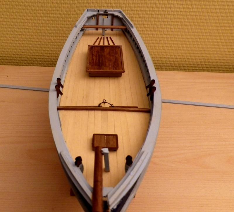 """Pas à pas d'une maquette terminée : """"Le Bon Retour"""" Coquiller de la rade de Brest. Kit AL au 1/50ème Imgp4123"""