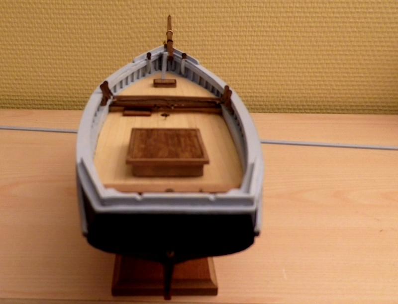 """Pas à pas d'une maquette terminée : """"Le Bon Retour"""" Coquiller de la rade de Brest. Kit AL au 1/50ème Imgp4124"""