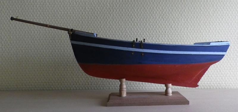 """Pas à pas d'une maquette terminée : """"Le Bon Retour"""" Coquiller de la rade de Brest. Kit AL au 1/50ème Imgp4125"""