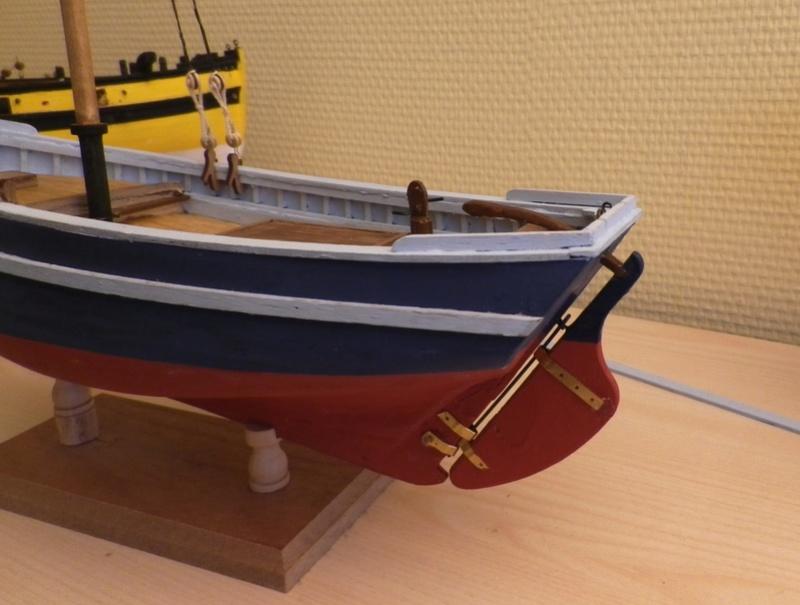 """Pas à pas d'une maquette terminée : """"Le Bon Retour"""" Coquiller de la rade de Brest. Kit AL au 1/50ème Imgp4128"""