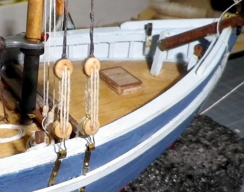 """Pas à pas d'une maquette terminée : """"Le Bon Retour"""" Coquiller de la rade de Brest. Kit AL au 1/50ème Imgp5160"""