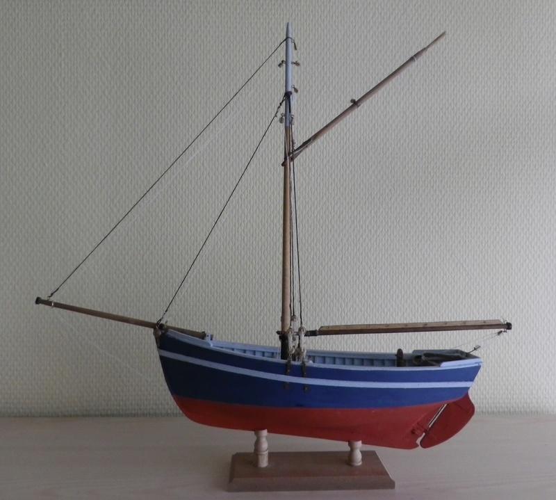"""Pas à pas d'une maquette terminée : """"Le Bon Retour"""" Coquiller de la rade de Brest. Kit AL au 1/50ème Imgp5161"""