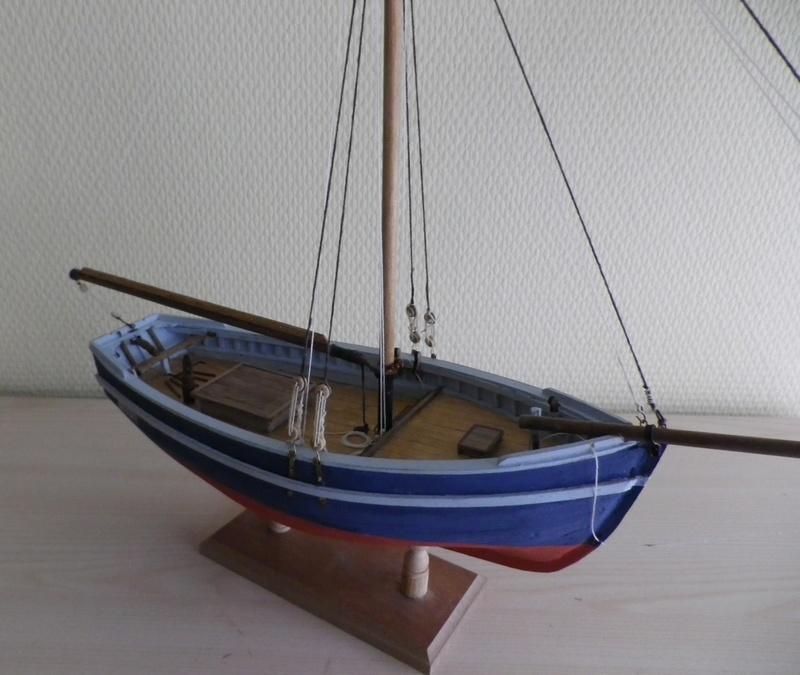 """Pas à pas d'une maquette terminée : """"Le Bon Retour"""" Coquiller de la rade de Brest. Kit AL au 1/50ème Imgp5163"""