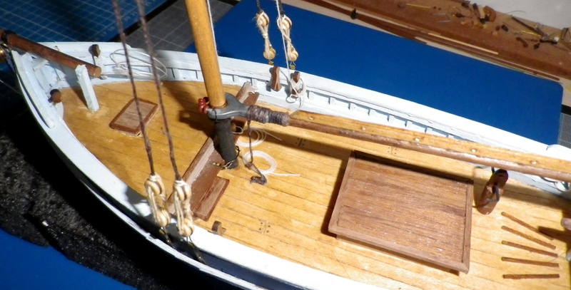 """Pas à pas d'une maquette terminée : """"Le Bon Retour"""" Coquiller de la rade de Brest. Kit AL au 1/50ème Imgp5166"""